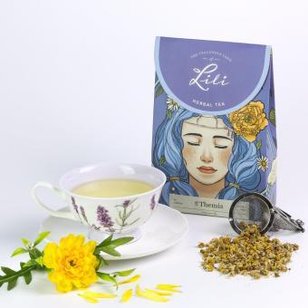 Trà thảo mộc Lili hương cúc vàng - 50g
