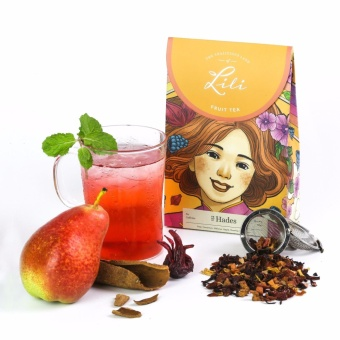 Trà trái cây Lili hương lê quế - 50g