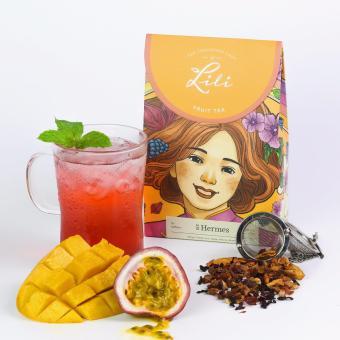 Trà trái cây Lili hương xoài chanh leo - 50g