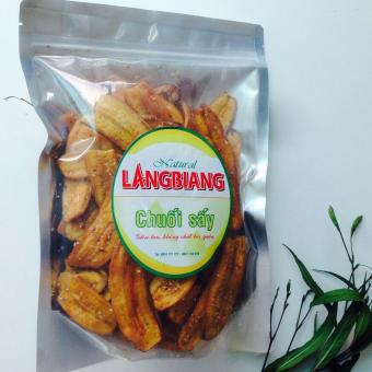 Túi Chuối sấy giòn (500gr), thơm ngon,nhiều dinh dưỡng