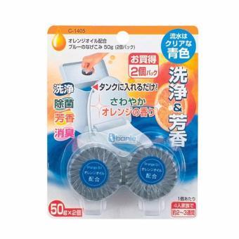 Vỉ 2 viên tẩy sạch và diệt khuẩn bồn cầu Nhật Bản