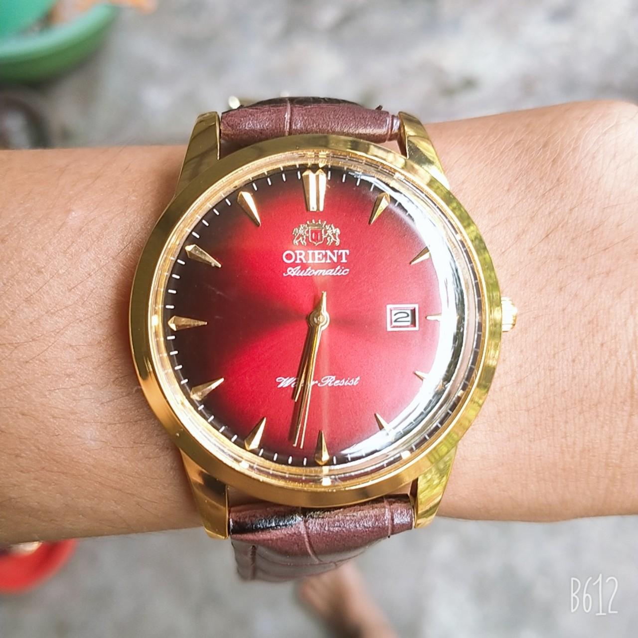 Đồng hồ nam ORIENT Automatic ( cơ lộ máy ) thumbnail