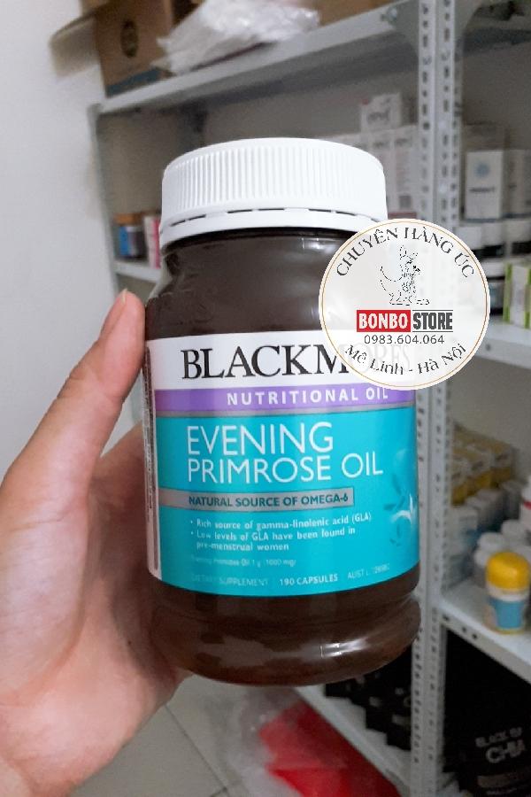 Tinh dầu hoa anh thảo Úc Blackmores Evening Primrose (190v)