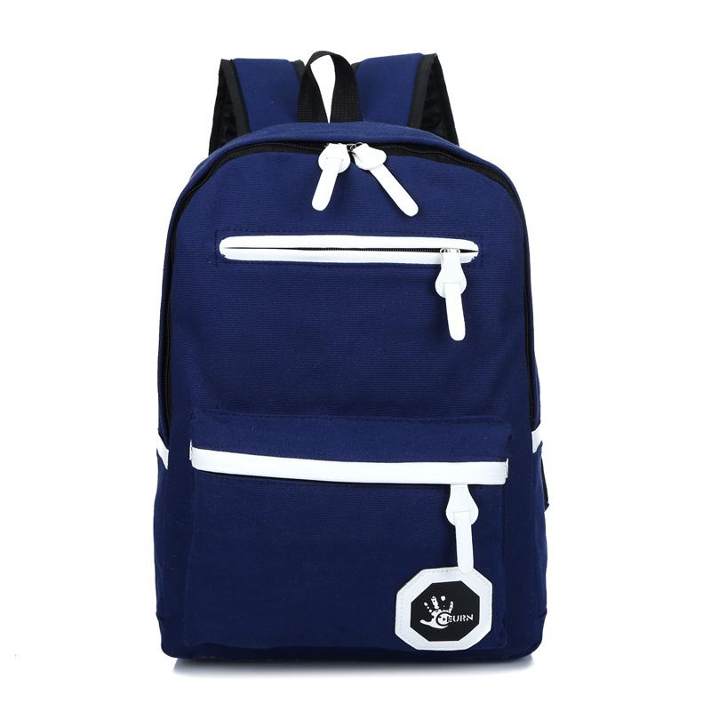 Balo vải đi học unisex thời trang sản phẩm thiết kế đơn giản cá tính năng động phù hợp cho cả nam và nữ AZDB3073 - Thương hiệu AZAGO