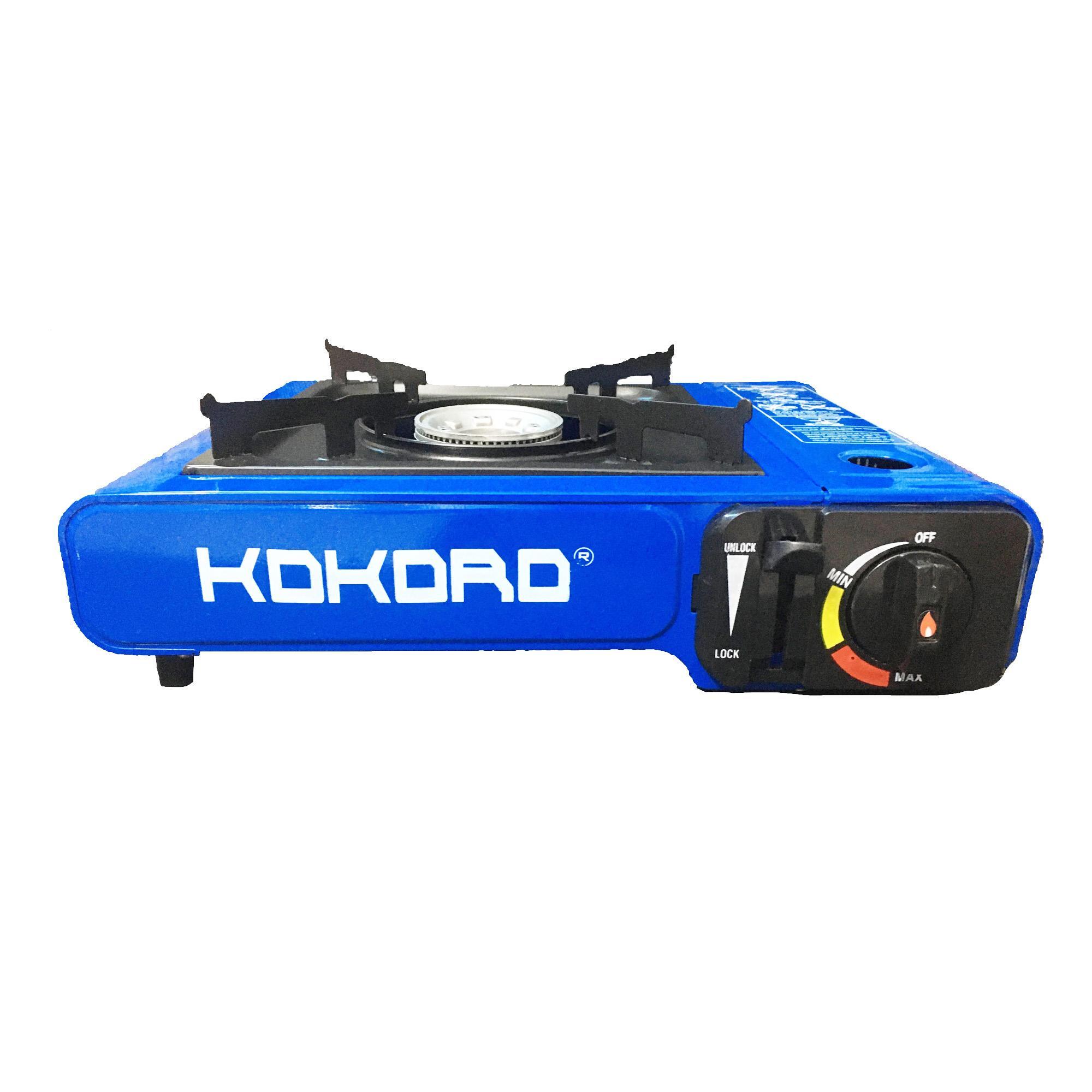 Bếp gas du lịch Kokoro thân sơn tĩnh điện (bếp ga mini chống cháy nổ - an  toàn sử dụng) - bep ga mini, bep gas mini, bep ga, bep du lich