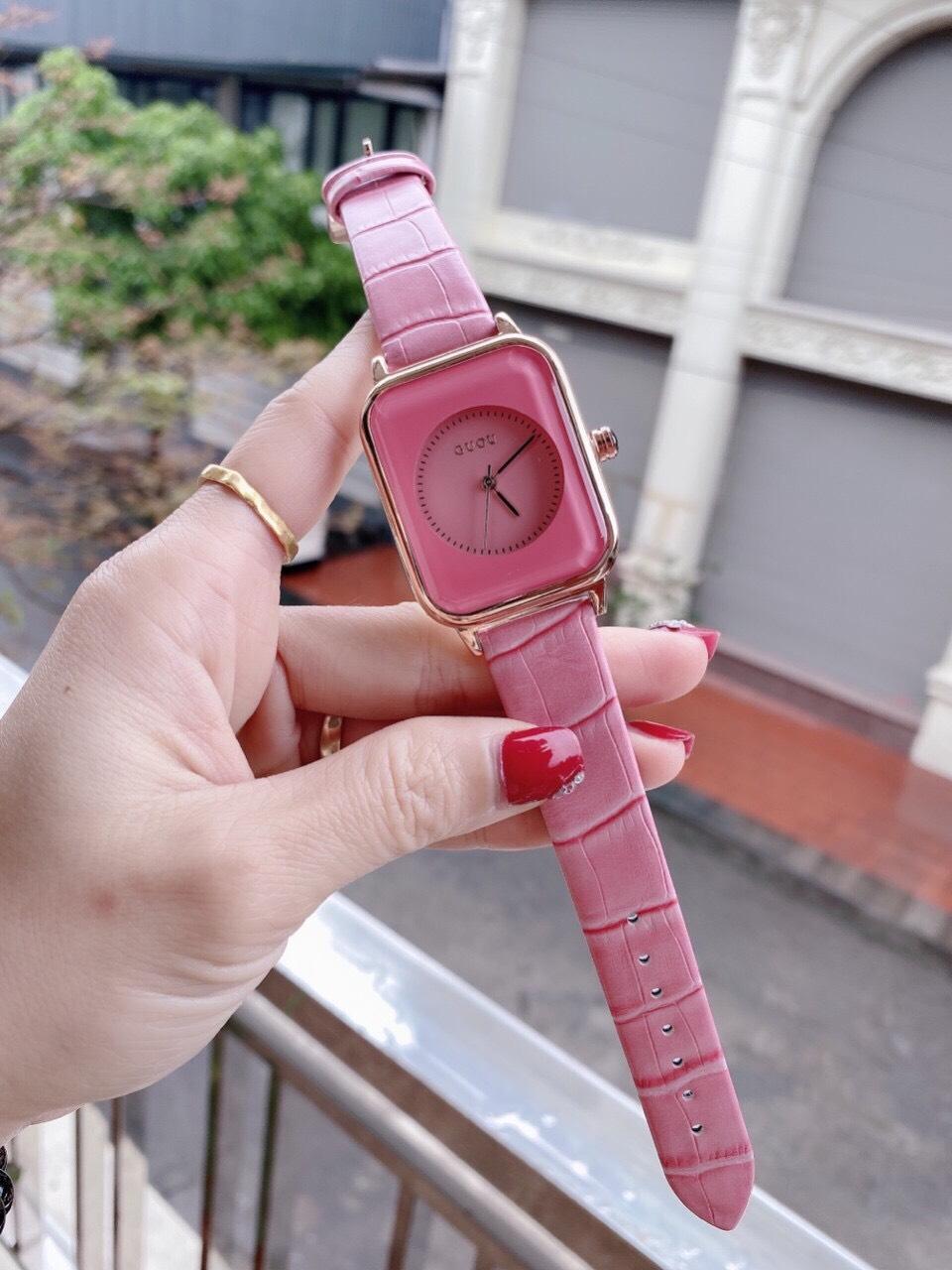 Đồng hồ Nữ GUOU Dây Mềm Mại đeo rất êm tay, Chống Nước Tốt, Bảo Hành Máy 12 Tháng Toàn Quốc 4