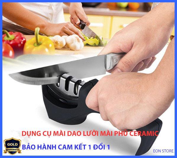 [Siêu tiện ích] Dụng cụ mài dao Knife sharpener X8 cao cấp, dụng cụ mài dao kéo đa năng công nghệ nhật bản,Dụng cụ mài dao cầm tay 3 trong 1 lưỡi mài phủ gốm ceramic, phủ kim cương, hợp kim vonfram, máy mài dao – EON STORE