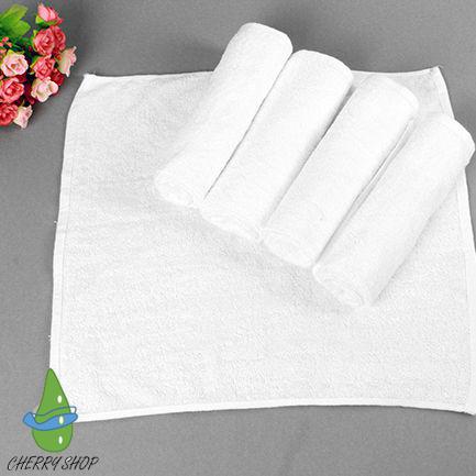 Hình ảnh khăn lau mặt, khăn tay cotton KT: 34cm x 34cm x 60g chuyên cho khách sạn và gia đình giá sỉ