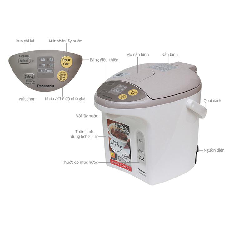 Bình Thủy Điện Panasonic PABT-NC-EG3000CSY 6
