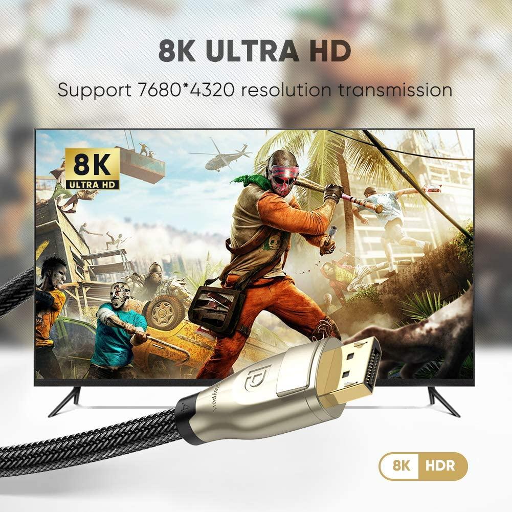 Cáp Displayport 1.4 hỗ trợ 8K dài 1-3M UGREEN DP112