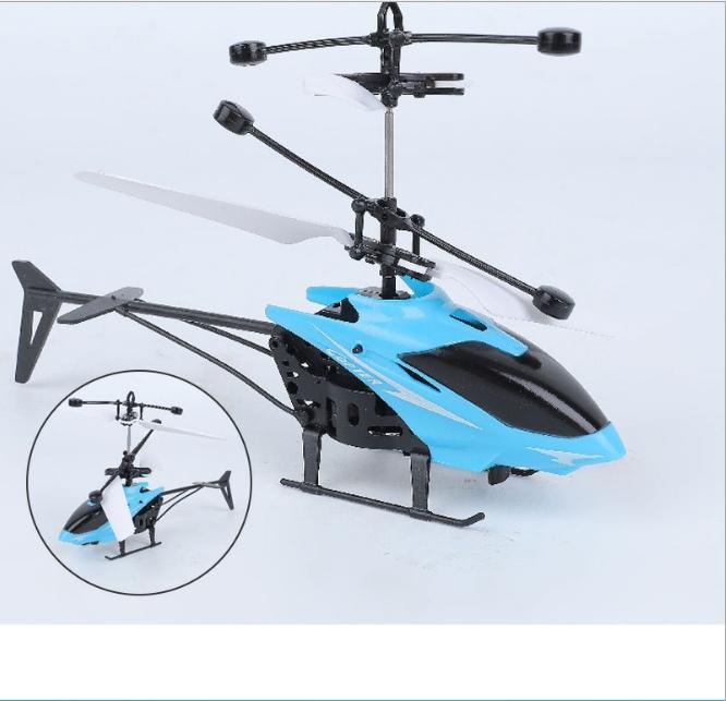 [CÓ VIDEO] Máy bay điều khiển từ xa, máy bay trực thăng cảm ứng AH001, giúp bé vui chơi vận động phát triển thể chất 4