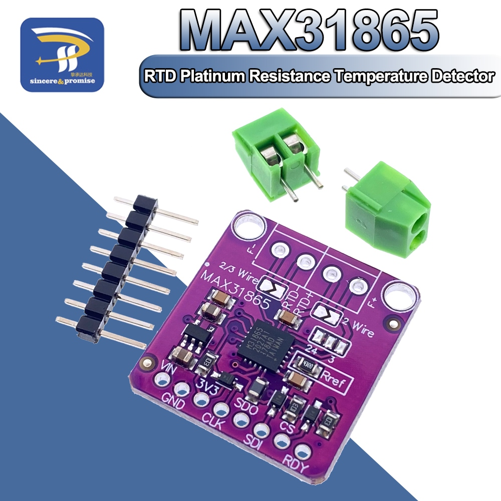 Network module   MAX31865 PT100 to PT1000 RTD to Digital Converter Board Temperature Thermocouple Sensor Amplifier Module 3.3V 5V For Arduino