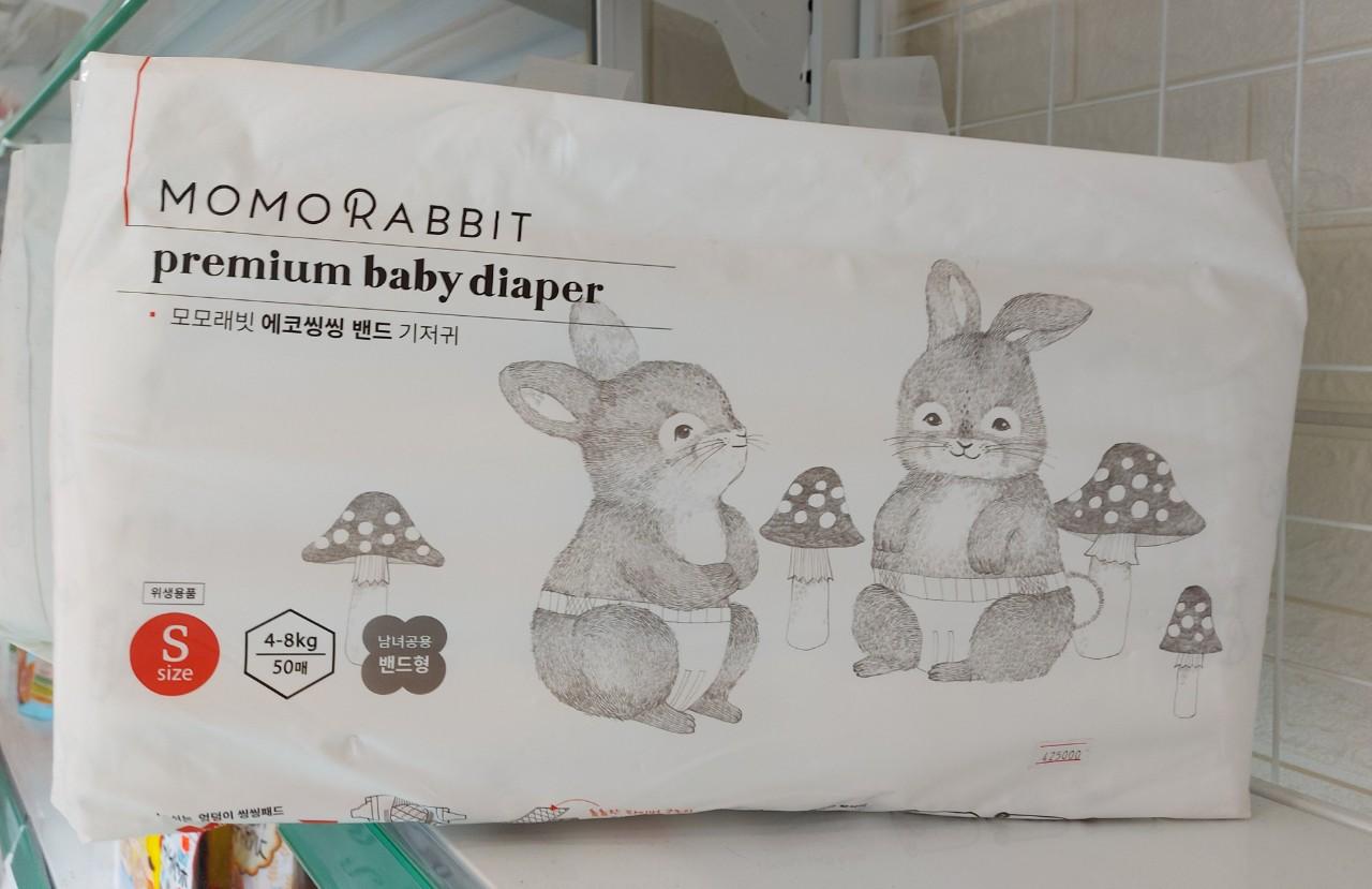 Bỉm Dán  Momo Rabbit Nội Địa Hàn Đủ Size