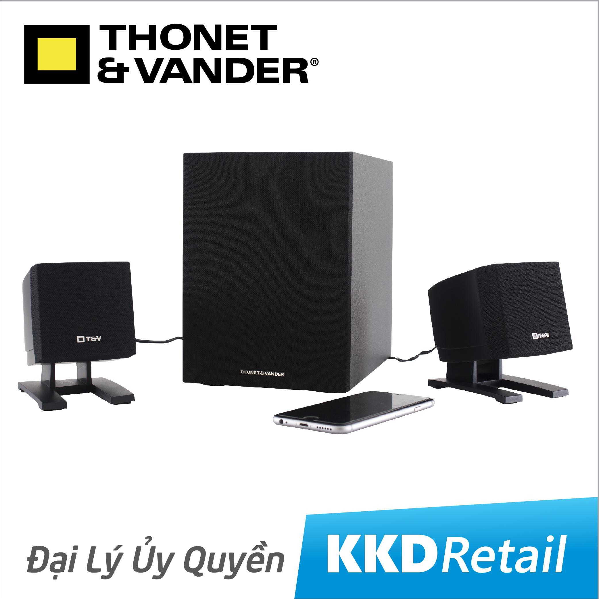 [Trải Nghiệm cùng] Loa Bluetooth Thonet and Vander Spiel BT 2.1 - Công nghệ Đức - Loa vi tính - Loa văn phòng - KKD Retail - Đại lý ủy quyền chính hãng