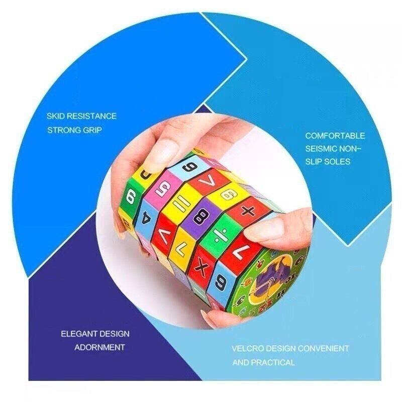 Đồ chơi trẻ em rubic toán học, phát triển khả năng tính toán, kích thích tư duy trí não phát triển cho bé từ 4 đến 8 tuổi 5