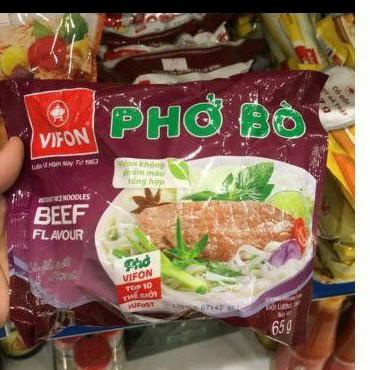 PHỞ BÒ VIFON GÓI 65G