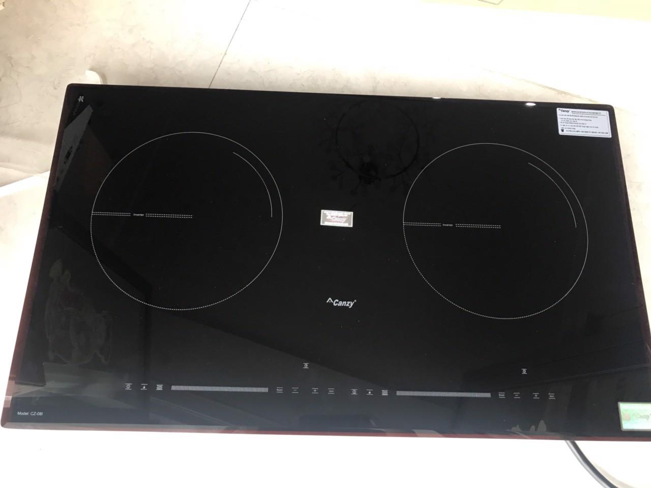 Bếp từ kết hợp hồng ngoại Canzy CZ 08H bếp điện từ bếp điện từ đôi âm bếp  điện từ đôi bếp điện từ đôi đức bếp điện từ đôi nhật bếp