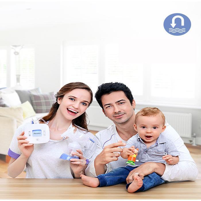 Máy hút sữa mẹ Amama-Thiết kế cho sữa chảy trực tiếp từ phễu silicon vào bình sữa-giảm cơn đau tức ngực do đầy sữa-An toàn cho mẹ và bé-,sản phẩm không thể thiếu đối với mẹ thông thái sale sốc 50%, giao hàng toàn quốc tại May Store 6