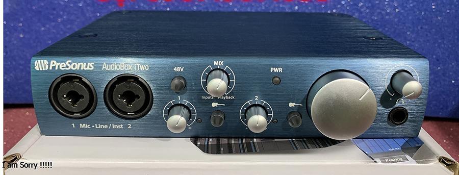 Sound card  PreSonus AudioBox iTwo