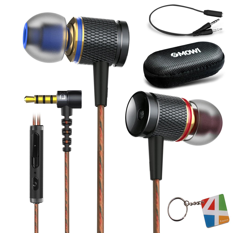 Tai nghe nhạc có mic Plextone DX2 hiệu ứng âm thanh Basshead nghe rõ từng bước chân khi chơi Game PUBG Mobile, thiết kế bằng Metal Aluminium khắc CNC tinh sảo, dây bọc cao su non chống rối kèm nút khiển cơ tặng túi, hộp đựng.
