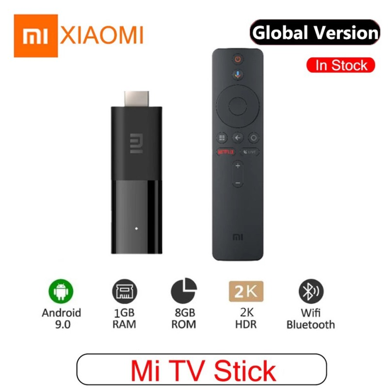 Android TV Xiaomi Mi TV stick Quốc Tế Tiếng Việt