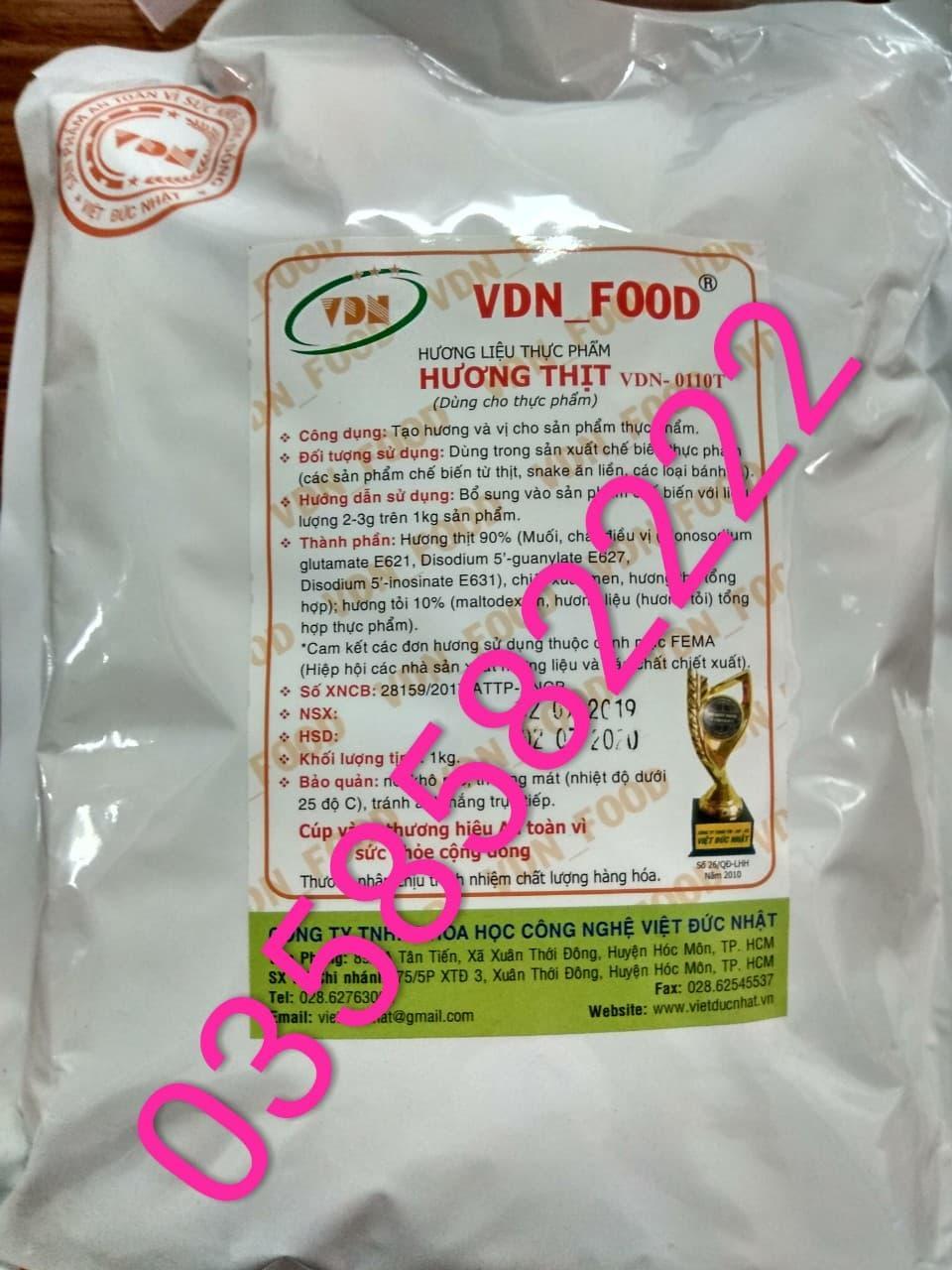[HCM]Phụ gia thực phẩm An ToànHương Thực Phẩm dùng trong chế biến Giò Chả Jambong Giò Me Thịt Nguội Hương Giò ChảHương Thịt Bột 0110T Việt Đức Nhật