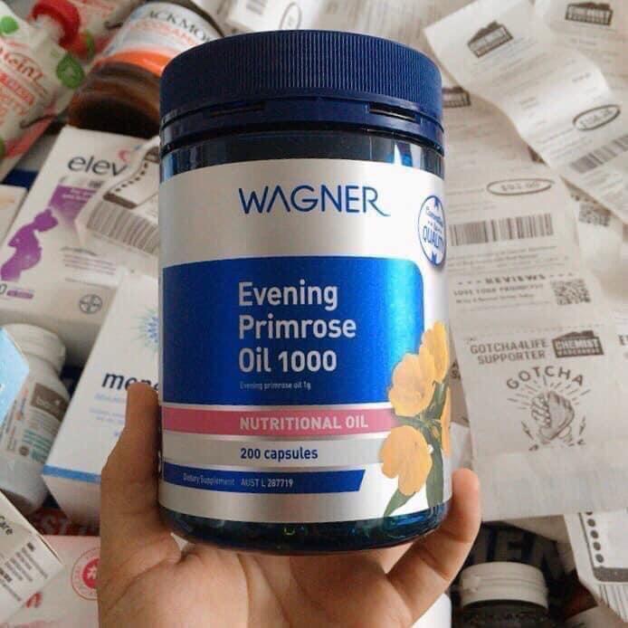 Viên uống hoa anh thảo Wagner 200 viên