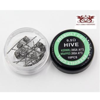 10 Đầu Đốt Hive Coil Siêu Khói Cho Rda Và Rta Tank (Bạc) - HàngNhập Khẩu