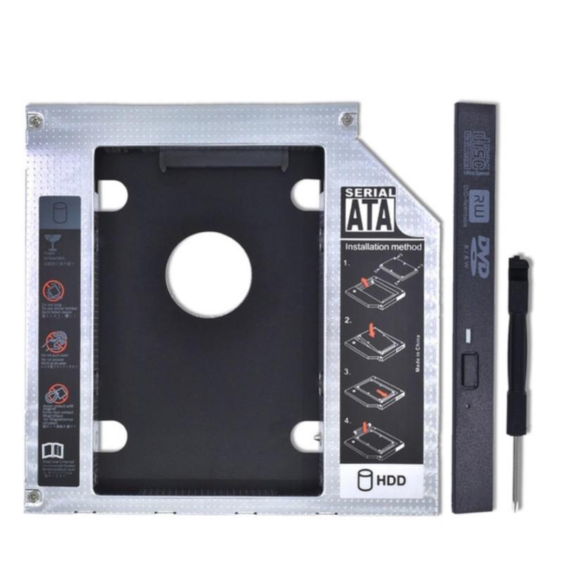 Bảng giá 12.7mm For CD ODD Notebook Universal Aluminum 2nd HDD Caddy 12.7mm SATA 3.0 For 2.5 DVD Box Case Enclosure Optibay - intl Phong Vũ