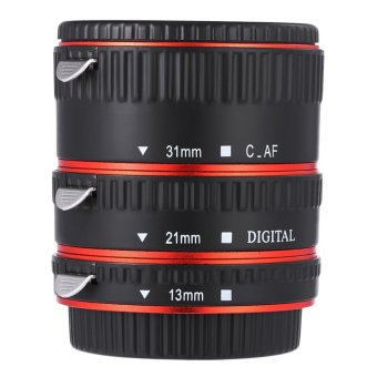 13MM 21MM 31MM Auto Focus Metal Macro Extension Tube for Canon EF EF - S Lens - intl