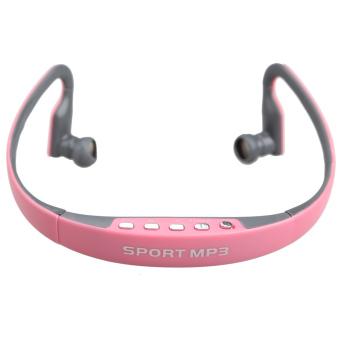 16GB Sports MP3 Player Headphones(Pink)(Intl)