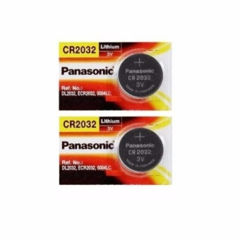 2 viên Pin CR2032 Panasonic 3V