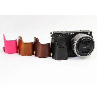 2016Newest Fashional Camera Bag Case For Sony A6300 A6000 - intl