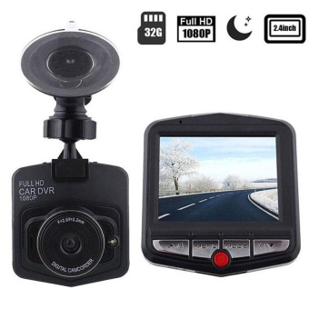 "2.4"" Full HD 1080P 170° DVR Car Vehicle Dash Camera Video RecorderCam - intl"
