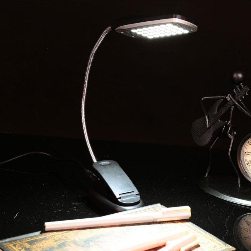 Bảng giá 28LED Flexible Folding USB/Battery Power Reading Clip Laptop Lamp Light - intl Phong Vũ