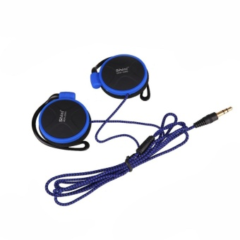 3.5mm Headphones EarHook Earphone For Mp3 Computer Mobile SmartPhones - intl