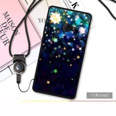 Intl Source 3D Relief Silica Gel Soft Phone Case for Xiaomi Mi Note 2 Multicolor