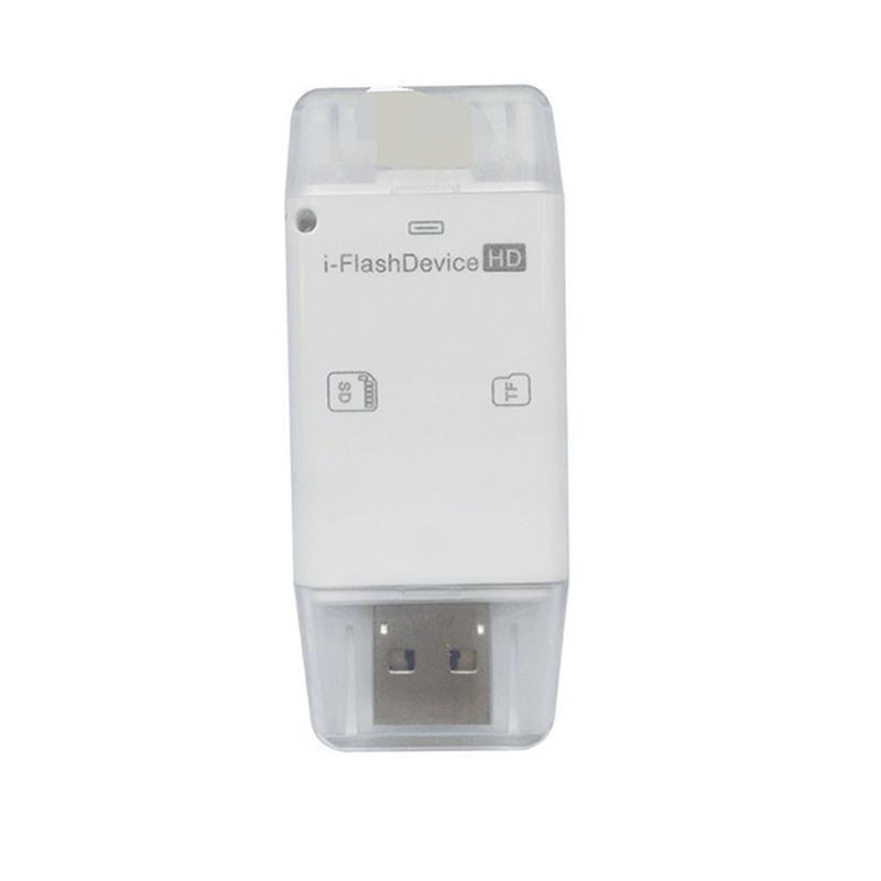 Bảng giá 3in1 Flash-device Mobile Phone Computer Card Reader SD Card Reader - intl Phong Vũ