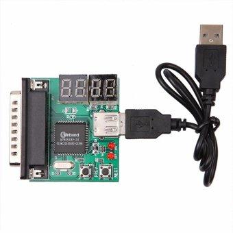 [Bluesky Store] Giá 4-Digit PC Analyzer Motherboard Diagnostic Tester USB Post Test Card – intl  290.000đ