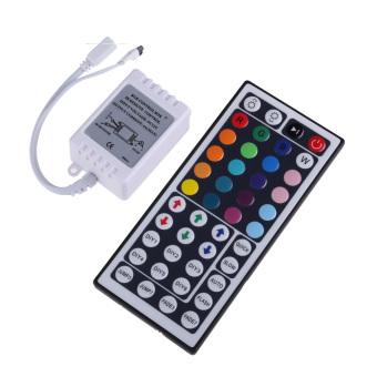 44 Key IR Remote Controller DC 12V for RGB 5050 SMD LED Strips Wireless (Intl)