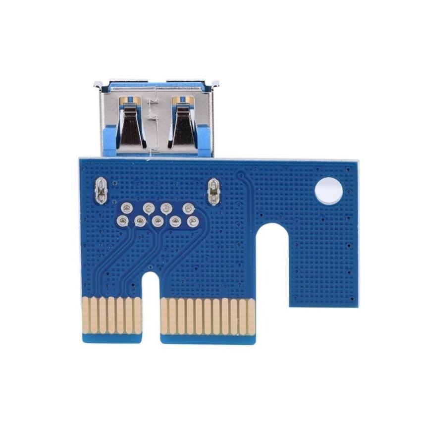 Hình ảnh 60cm PCI-E Express 1x to 16x 6 Pin Extension Cord Graphics CardAdapter - intl
