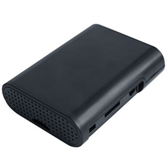 ABS Protective Box Case Shell for Raspberry Pi 2 3 Model B (Black)