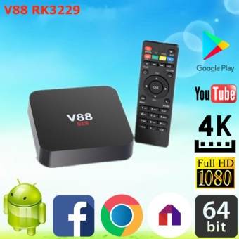 Android tv Box V88 RAM 1GB ROM 8GB ANDROID 6.0