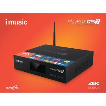 Android TV Play Box HD7 Imusc Tích hợp Karaoke offline 10.000 bài hát