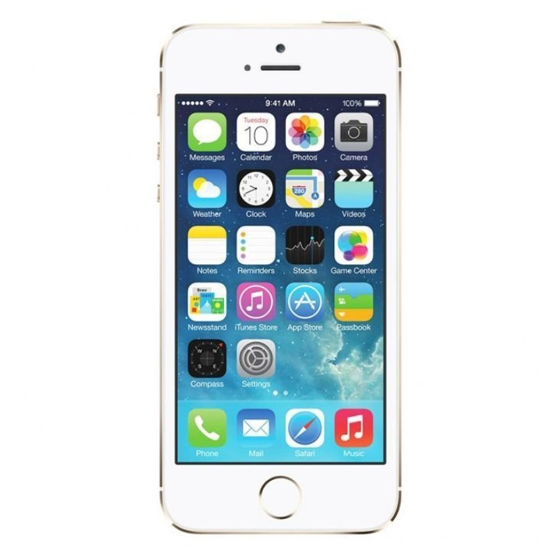 "Apple iPhone 5s – Retina 4"" / 8MP / 32GB (Gold)"