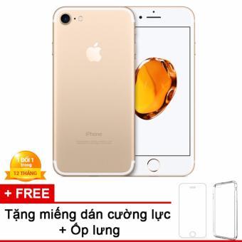 Apple iPhone 7 128GB Vàng - Hàng nhập khẩu + miếng dán cường lực + ốp lưng