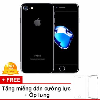 Apple iPhone 7 256GB Đen - Hàng nhập khẩu + miếng dán cường lực + ốp lưng