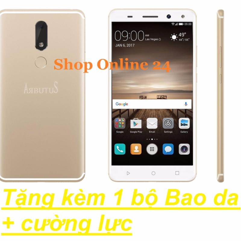 Arbutus Max 8s 32G Ram 2GB (Vàng) + Bao Da + Cường lực - Hàng nhập khẩu