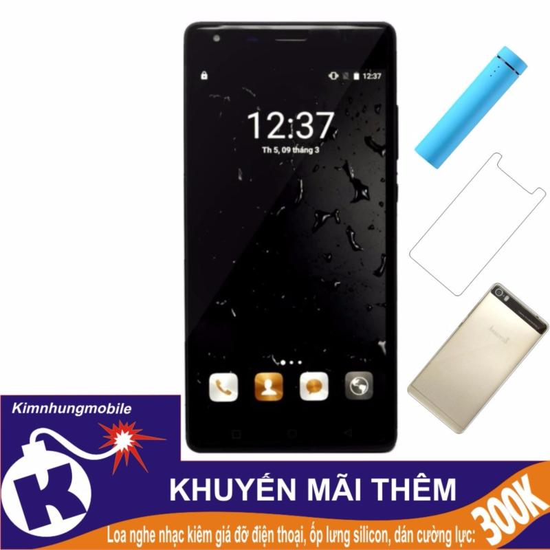 Arbutus Max Pro 16GB (Đen) - Hàng nhập khẩu + Dán cường lực + Ốp lưng silicon + Loa 3 in 1