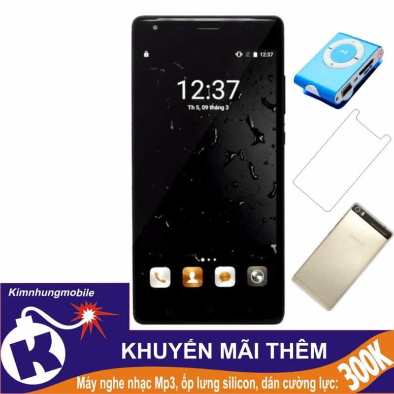 Arbutus Max Pro 16GB (Đen) - Hàng nhập khẩu + Dán cường lực + Ốp lưng silicon + Máy nghe nhạc mp3
